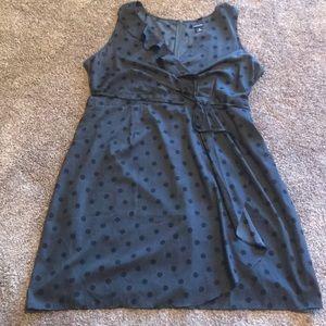 Polka Dot Maternity Wrap Dress XL